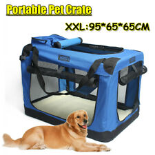 XXL Pet Soft Crate Portable Dog Cat Carrier Travel Cage Kennel Foldable Large