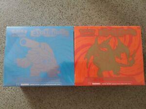 Pokemon XY Evolutions Elite Trainer Box Set Mega Charizard & Blastoise