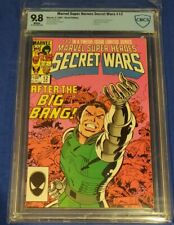 MARVEL SUPER-HEROES SECTRET WARS #12 CBCS 9.8 white pages not cgc