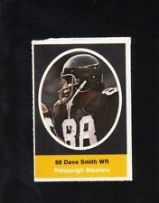 1972 SUNOCO STAMP DAVE SMITH PITTSBURGH STEELERS