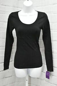 Yummie Tummie Karlie Seamless Shapewear Shirt, Women's Size S/P, Black