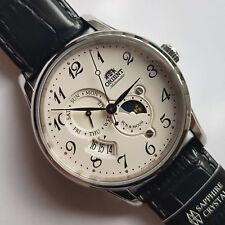 Automatic watch. Orient RA-AK0003S10B. Sun & Moon. Sapphire. 5 ATM. NEW.