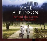 Kate Atkinson / Behind The Scenes At The Museum - 3CD Audiobook - MINT