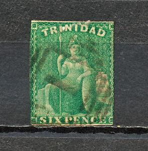 (NNAS 307) TRINIDAD 1859 USED MICH 9 SC 16