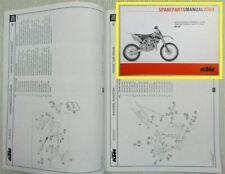 KTM 85SX Ersatzteilliste Parts List Fahrgestell Motor Chassis Engine 2004