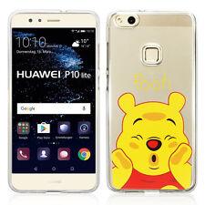 "Coque Housse Silicone TPU Ultra-Fine Winnie the Pooh pour Huawei P10 Lite 5.2"""