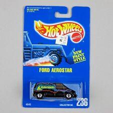 """Hot Wheels FORD AEROSTAR #236 NM/MT Blue Card 1993 """"Rollerblade"""""""