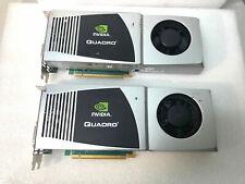 LOT 2 NVIDIA Quadro FX 4800 Graphics Card P607 PNY VCQFX4800-PCIE-T used
