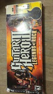 GUITAR HERO III LEGENDS OF ROCK PS3 Playstation 3 Wireless Wear Rips Dents Box N