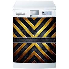 Magnete lavastoviglie grigio giallo e grigio 60x60cm ref 609 609
