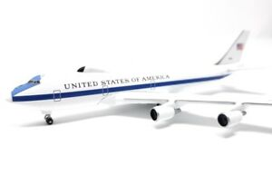 Airplane Herpa Wings 1/500 United States of America US Air Force Boeing E-4B