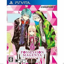 Possession Magenta PS Vita SONY JAPANESE NEW JAPANZON