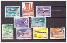 S15586) San Marino 1963 MNH Planes 9v Aircrafts