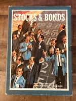Vintage 1964 3M Stocks and Bonds Bookshelf Board Game