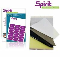 Spirit Thermal Carbon Paper - A4 Tattoo Transfer -  Authentic UK - Fast delivery
