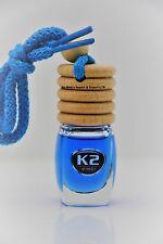 OCEAN Smell  AROMA VENTO Air Freshener HANGING car PERFUME Glass Bottle Wood 8ml