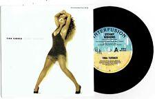 "TINA TURNER - STEAMY WINDOWS - 7"" 45 VINYL RECORD w PROMO PICT SLV - 1989"