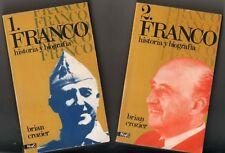FRANCO - HISTORIA Y BIOGRAFIA - 2 TOMOS - BRIAN CROZIER - ILUSTRADOS
