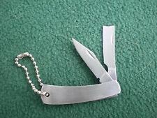 Mini 2 blade key chain pocket knife Cane Cutter II
