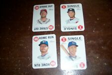 4 different 2017 Topps Heritage Topps Game insert card lot – Jose Altuve