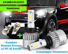 LAMPADE ABBAGLIANTI ANABBAGLIANTI + POSIZIONI LED MINI COUNTRYMAN R60 2010+