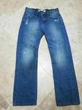 Levis 514 Straight Light Wash Boys Size 14 Regular 27x27 Jeans Blue Pants