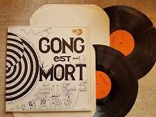 Gong – Gong Est Mort Etichetta: Les Tontons M'Ecoutent – LTM 1003/1004 - 2 LP