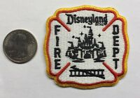 Disneyland California Fire Department Firefighter Patch Disney Mickey Mouse 2.5""