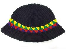 Guatemalan Crochet Hat Bucket Cloche Brimmed Hand Made CONCERNED CRAFTS NOS  #CF