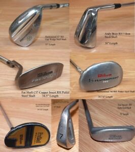 Wilson RH Golf Club of Choice (Iron/ Putter/ Wedge) Steel Shaft w/ Grip *READ*