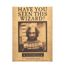 TIE LER Harry Potter Godfather Sirius Orion Black Retro Kraft Poster Classic