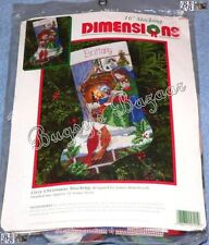 Dimensions COZY CHRISTMAS Stocking Mother & Child Needlepoint  Kit - 9101