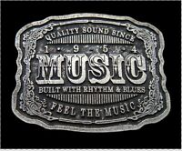 Quality Music Rhythm And Blues Cool Belt Buckle Buckles Boucle De Ceinture