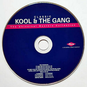 Classic Kool & The Gang (CD) Disc Only - 17 Tracks - Masters Collection - (2000)