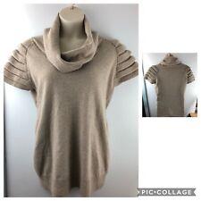 Women/'s Oversize Cavo Lavorato a Maglia Grossa Caldo Donna Maglione Pullover Top Taglia 8-14