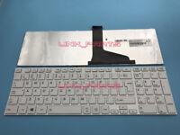 Brand White For TOSHIBA Satellite L850 L850D L855 L855D L950D English Keyboard