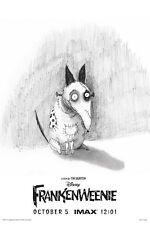 "01 Frankenweenie - Tim Burton 2012 Film Movie Animation 14""x21"" Poster"
