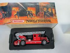 Matchbox Models of Yesteryear Fire Engine Series 1932 Mercedes Benz Ladder Truck