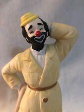 Flambro Clown Hobo Make-up Series Circus World Museum Ceramic Figure 1985
