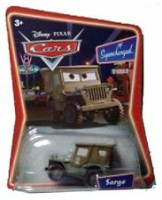 Disney Movie Pixar Cars - SARGE Jeep Truck Military ARMY Green RARE VHTF