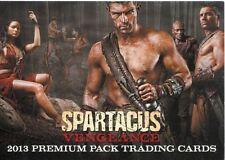 Spartacus Vengeance Promo Card P1