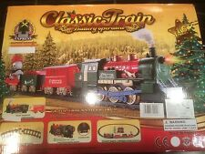 16 Pièce train avec phare & sound. lumières de Noël / toy 340cm
