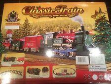 16 Piece Train Set With Headlight & Sound. Christmas Lights / Toy 340cm