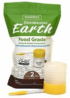 Diatomaceous Earth Food Grade, 2lb with Powder Duster Included in The Bag