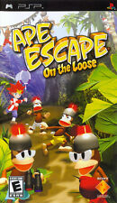 Ape Escape: On the Loose (2005) Brand New Factory Sealed USA Sony PSP Game