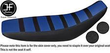 Diseño 3 Royal Blue & Vinilo de Carbono para Yamaha WR 125 R Personalizado X 09-17 Cubierta de asiento