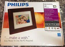 Philips Digital Photo Frame 7'' LCD SPF3470/G7  New sealed box