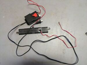 Bachmann Hobby Train Transformer 6607 with G Scale Track Power Connector