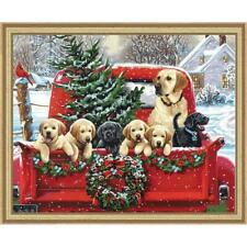 Paintworks® Holiday Puppy Truck Paint-by-Number Kit