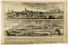 Antique Print-SINT MAARTENSDIJK-WESTKAPELLE-46-ZEELAND-Bouttats-Peeters-1680